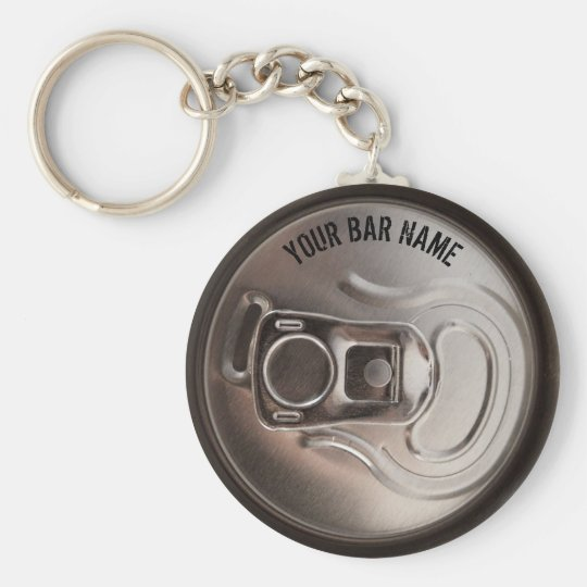 Pub Or Bar Owner Beer Can Keychain