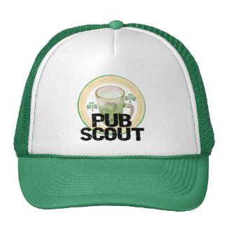 Pub Scout St. Patrick's Day Tshirts and Gifts Hat