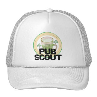 Pub Scout St. Patrick's Day Tshirts and Gifts Trucker Hat
