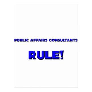 Public Affairs Consultants Rule! Postcard