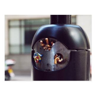 Public ashtray postcard
