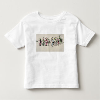 Public dance in honour of the warrior He Dog (ink Toddler T-Shirt