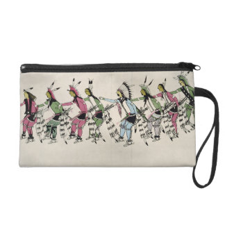 Public dance in honour of the warrior He Dog (ink Wristlets