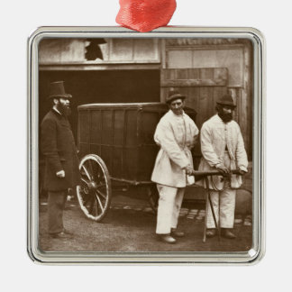 Public Disinfectors, from 'Street Life in London', Christmas Ornament