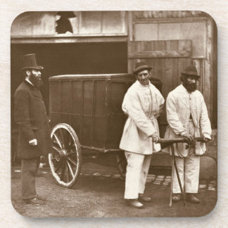 Public Disinfectors, from 'Street Life in London', Coaster