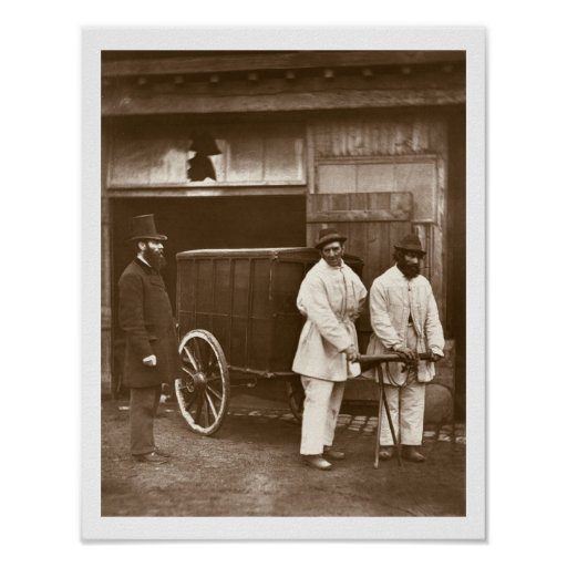 Public Disinfectors, from 'Street Life in London', Posters