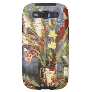 Public Domain Van Gogh Vintage Flower Image Galaxy SIII Covers