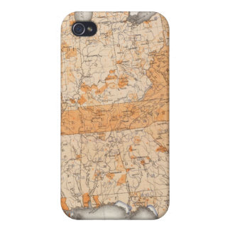 Public Indebtedness, Statistical US Lithograph iPhone 4 Case