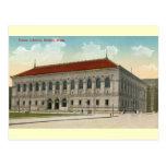 Public Library, Boston 1911 Vintage Post Card