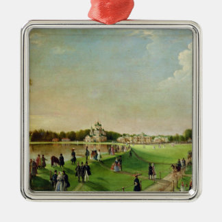Public merry-making in Ostankino, 1840s Christmas Ornament