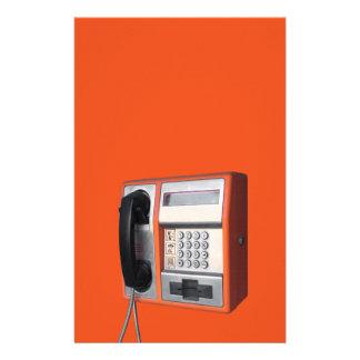 Public phone 14 cm x 21.5 cm flyer