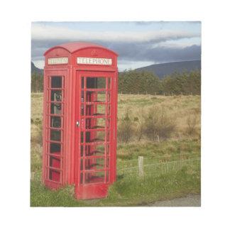 Public Phone Box, Ellishadder, near Staffin, Notepads