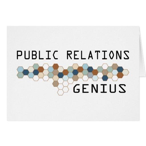 Public Relations Genius Cards