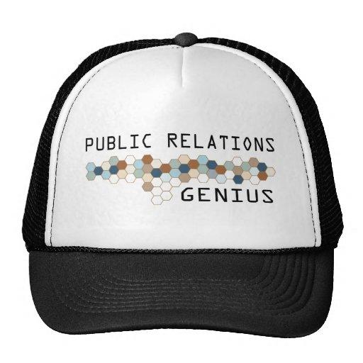Public Relations Genius Trucker Hat