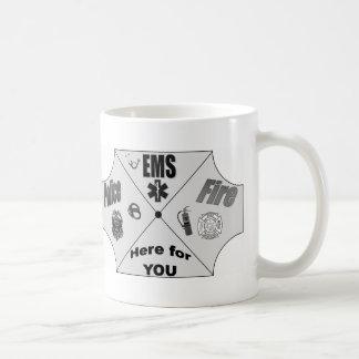 Public safety coffee mug