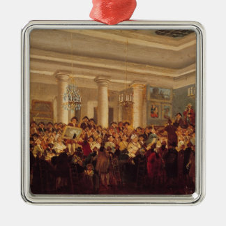 Public Sale at the Hotel Bullion Christmas Ornament