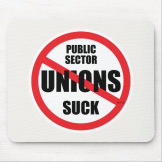 Public Sector Unions Suck Mouse Pad