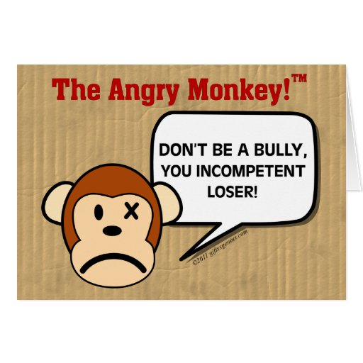Public Service Announcement - Don't Be a Bully Cards