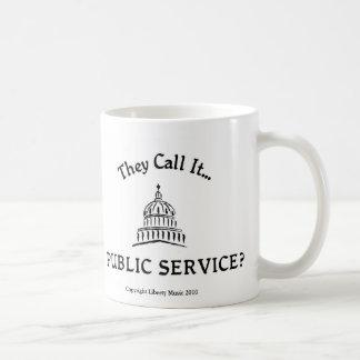 Public Service Mug
