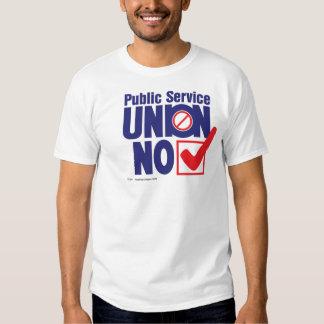 Public Service Union NO - shirt