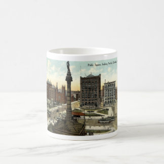 Public Square Cleveland Ohio 1910 vintage Coffee Mug