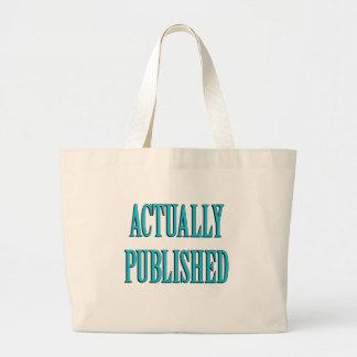 Published Author Jumbo Tote Bag
