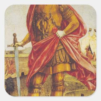 Publius Scipio Africanus Square Sticker