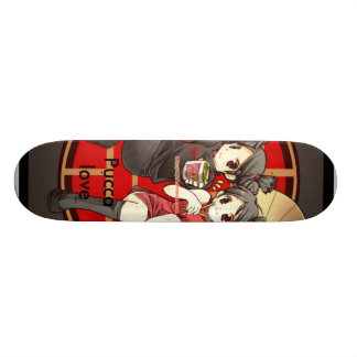 Pucca love skateboards