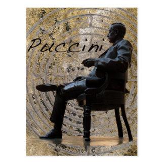 Puccini_Statue_Lucca1 Post Card