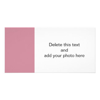 Puce High End Solid Colored Picture Card