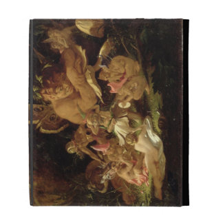 Puck and Fairies, from 'A Midsummer Night's Dream' iPad Folio Case