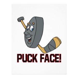 Puck Face Flyer Design