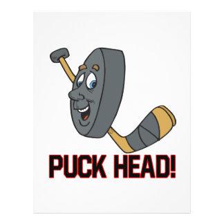 Puck Head Custom Flyer