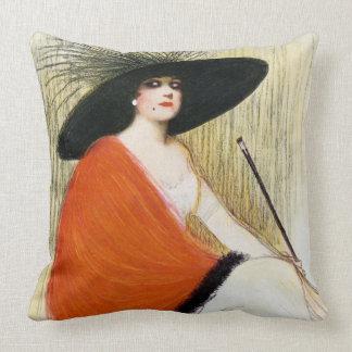 Puck Magazine Cover 1912 Cushion