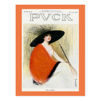 Puck Magazine Cover 1912 Postcard