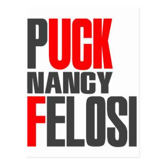 Puck Nancy Felosi Pelosi Postcard