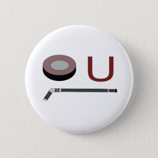 """Puck"" U 6 Cm Round Badge"