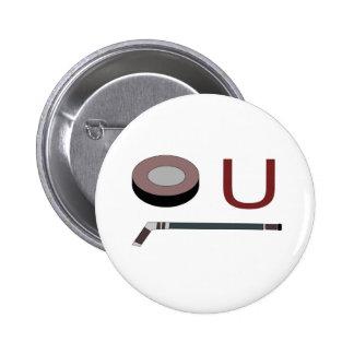 """""""Puck"""" U 6 Cm Round Badge"""