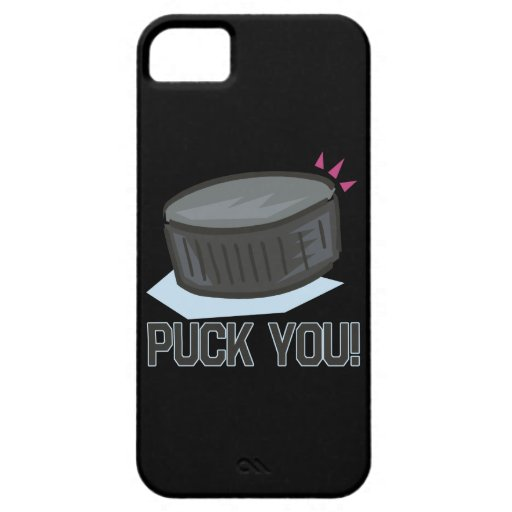 Puck You iPhone 5 Cases