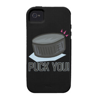 Puck You Case-Mate iPhone 4 Covers