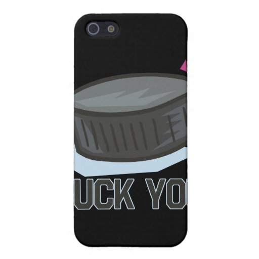 Puck You Covers For iPhone 5