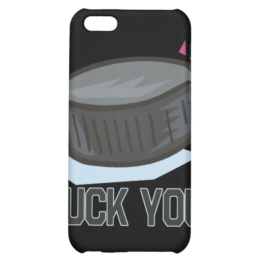 Puck You iPhone 5C Cover