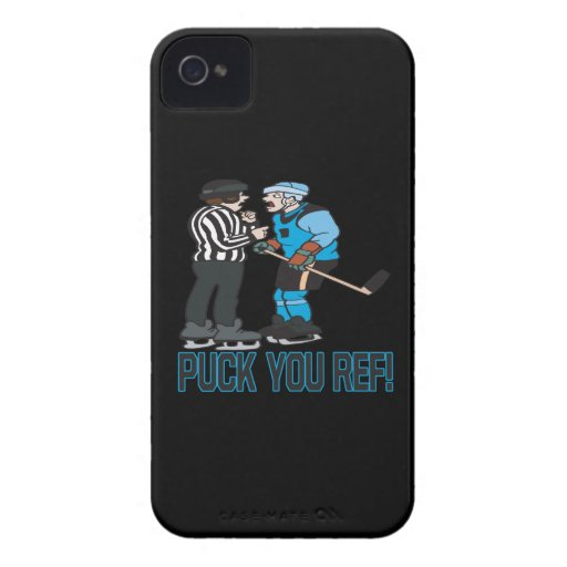Puck You Ref Case-Mate Blackberry Case