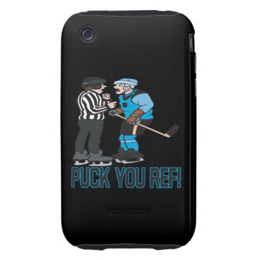 Puck You Ref iPhone 3 Tough Cases