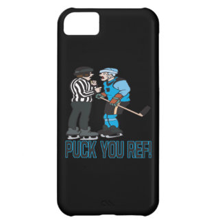 Puck You Ref iPhone 5C Covers