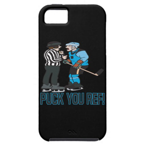 Puck You Ref iPhone 5 Case