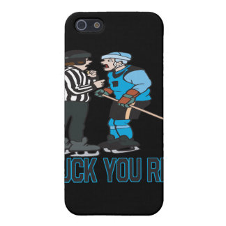 Puck You Ref iPhone 5 Cover