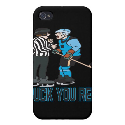 Puck You Ref Cases For iPhone 4