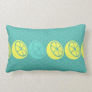 Pucker Up Lemon Lumbar Decorative Pillow