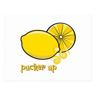 Pucker Up Post Card